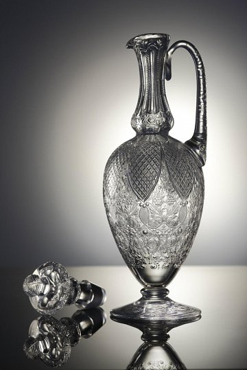 Decanter by Andy Cope Stourbridge glass